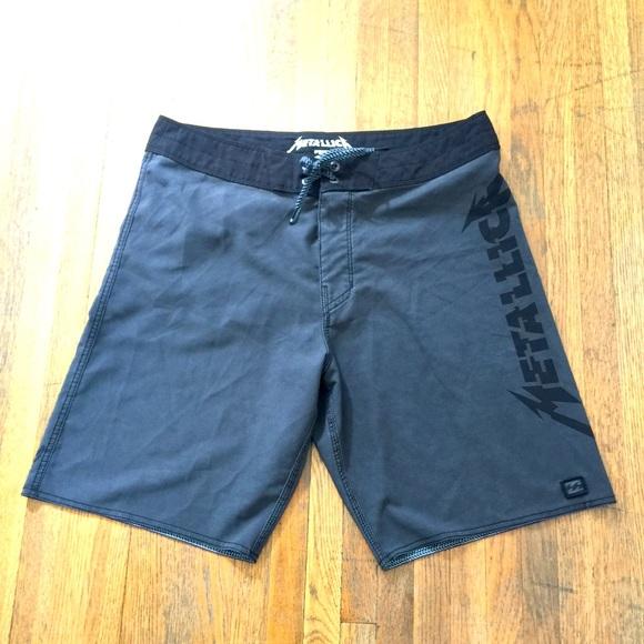 Billabong Metallica Limited Edition Board Shorts